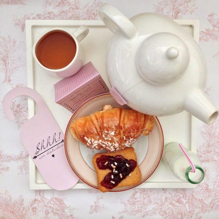 A Sunday morning with: Kit per la colazione a letto di San Valentino