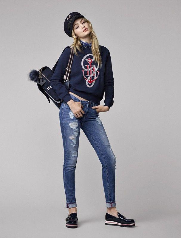 Top 5 looks desejo da coleção de Gigi Hadid para Tommy Hilfiger