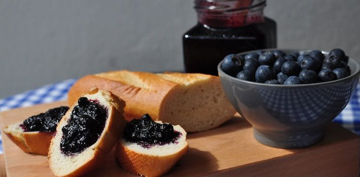 Wild Swedish Blueberry Jam- Yummy good