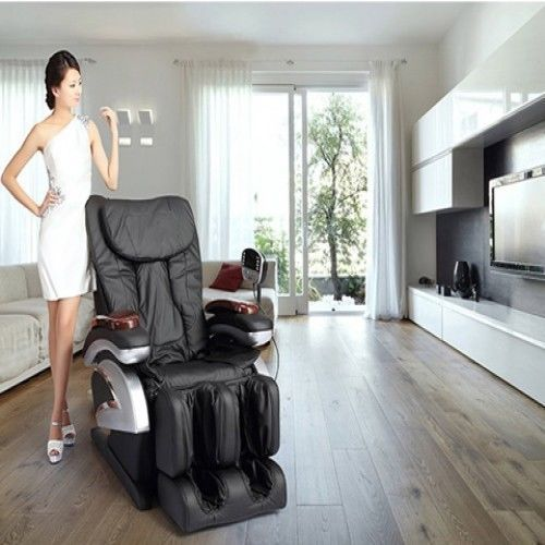 Shiatsu Massage Chair Recliner with Stretched Foot Rest BM-EC06C - FREE SHIPPING #BestMassage