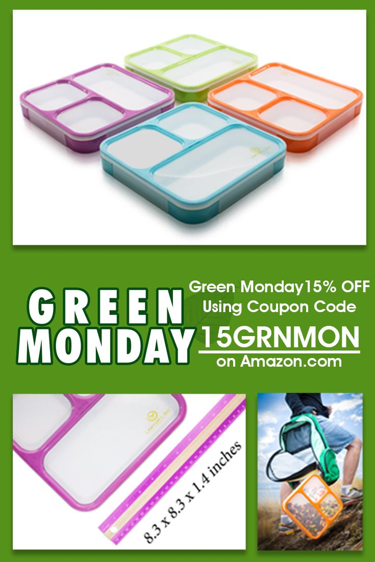 Green light is on! Our Green Monday Special Treat.... Get 15% Off on Lifemark Labs Bento Boxes! Its stylish, trendy and with portion control. Use Coupon Code 15GRNMON on our Amazon site.  http://www.amazon.com/Bento-Lunch-Box-Lifemark-Labs/dp/B00WIXIENC/ref=sr_1_2?ie=UTF8&qid=1450076586&sr=8-2-spons&keywords=bento+box&psc=1 For more, visit Lifetoned.com