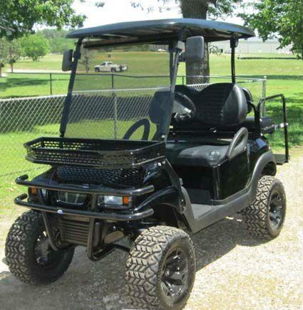 Street Legal 48v Black Stealth Club Car Precedent Electric