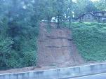 Mud slide on U.S. 31 in Vestavia Hills -- Jefferson Co. #hurricaneivan, #CabinetHardware.org, #hurricane
