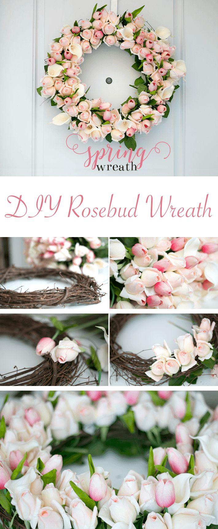 Fake flowers for crafts - 15 Creative Diy Spring Wreath Ideas To Brighten Your Door