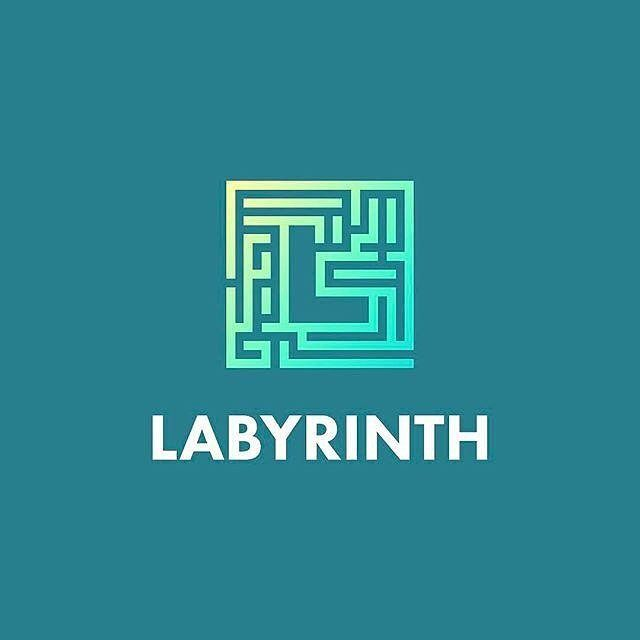 Logo inspiration: Labyrinth by @smart Hire quality logo and branding designers at Twine. Twine can help you get a logo, logo design, logo designer, graphic design, graphic designer, emblem, startup logo, business logo, company logo, branding, branding designer, branding identity, design inspiration, brandinginspiration and more.