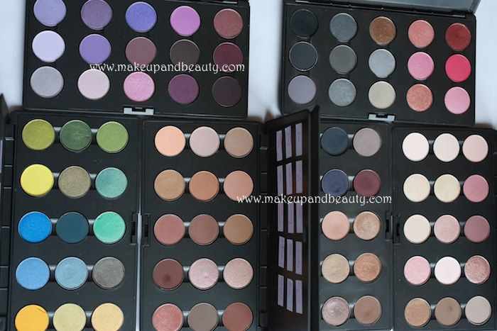 all mac eyeshadow swatches. literally she swatched like all of them. that is dedication. i'm all over it.