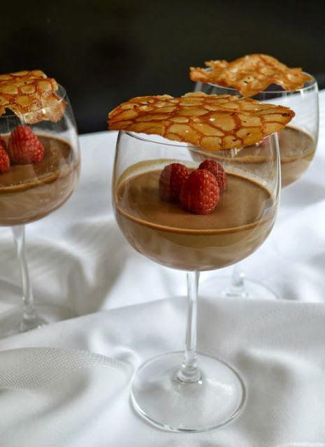 chocolate chai panna cotta easy desserts pinterest. Black Bedroom Furniture Sets. Home Design Ideas