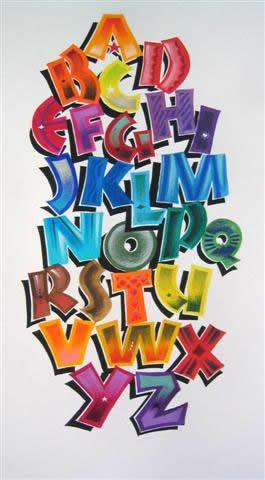 MOTHERLOAD BOARD of alphabets https://www.pinterest.com/evamgarciagonza/letters/