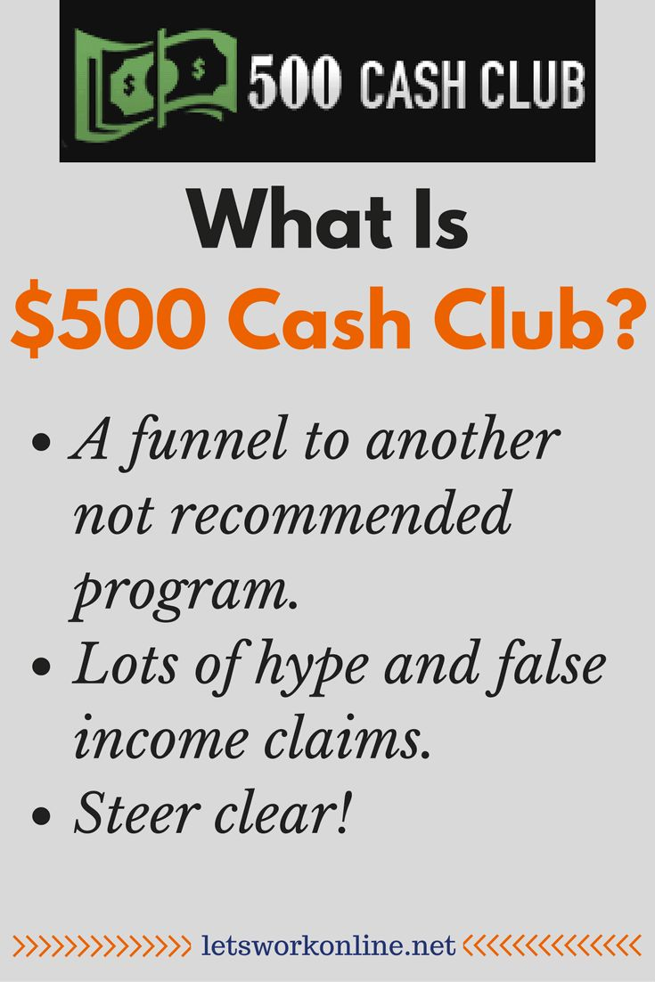 What is $500 Cash Club? After watching the sales video you are probably confused. Read my review to see why should avoid this program.