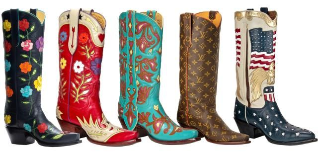 Buy your cowboy boots where celebrities do, at Back at the Ranch, a luxury cowboy boot store in Santa Fe, New Mexico.