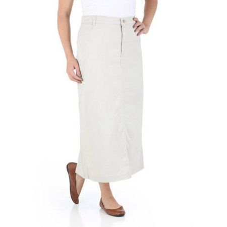 Riders by Lee Women's Casual Skirt, Size: 10M, Beige