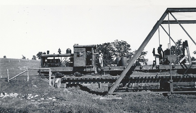 """www.cashforoffer.com  Salvage operations near Zwingle, Iowa, June, 1936, """"Engine """"The Ox""""  THE PALIMPSEST, APRIL, 1932 FROM BELLEVUE TO CASCADE  Beside the North Fork of the Maquoketa River, situated on the line between Ja"""