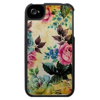 Antique Floral iPhone 4 Case