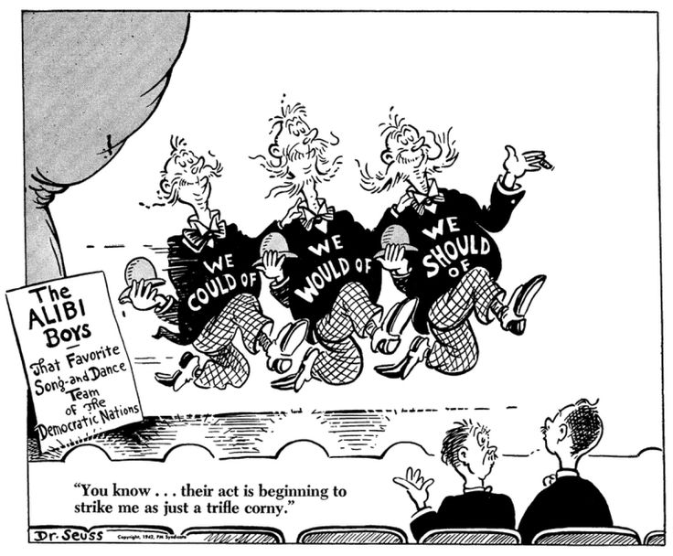 Dr. Seuss World War II Cartoon