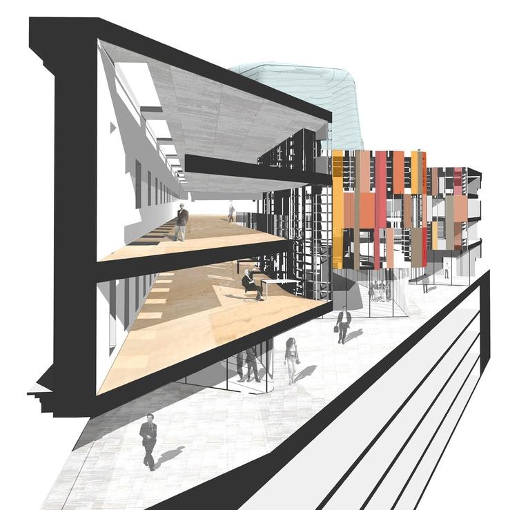 Residencia de Estudiantes en el Campus de la U.L.E. - MACA y VIRAI arquitectos