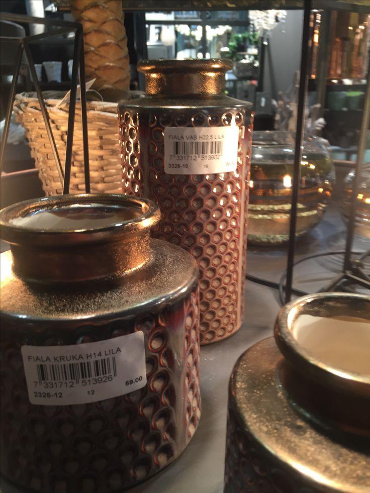 Keramikk-krukker