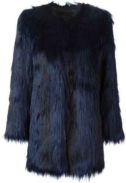 Unreal Fur Wanderlust Coat worn by Crown Princess Victoria of Sweden