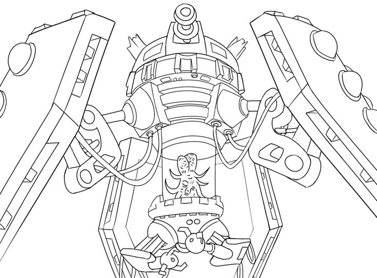 doctor who fan art featuring the dalek emperor as seen in the series 1 finale parting of the ways description from deviantartcom i searched for - Dr Who Coloring Book