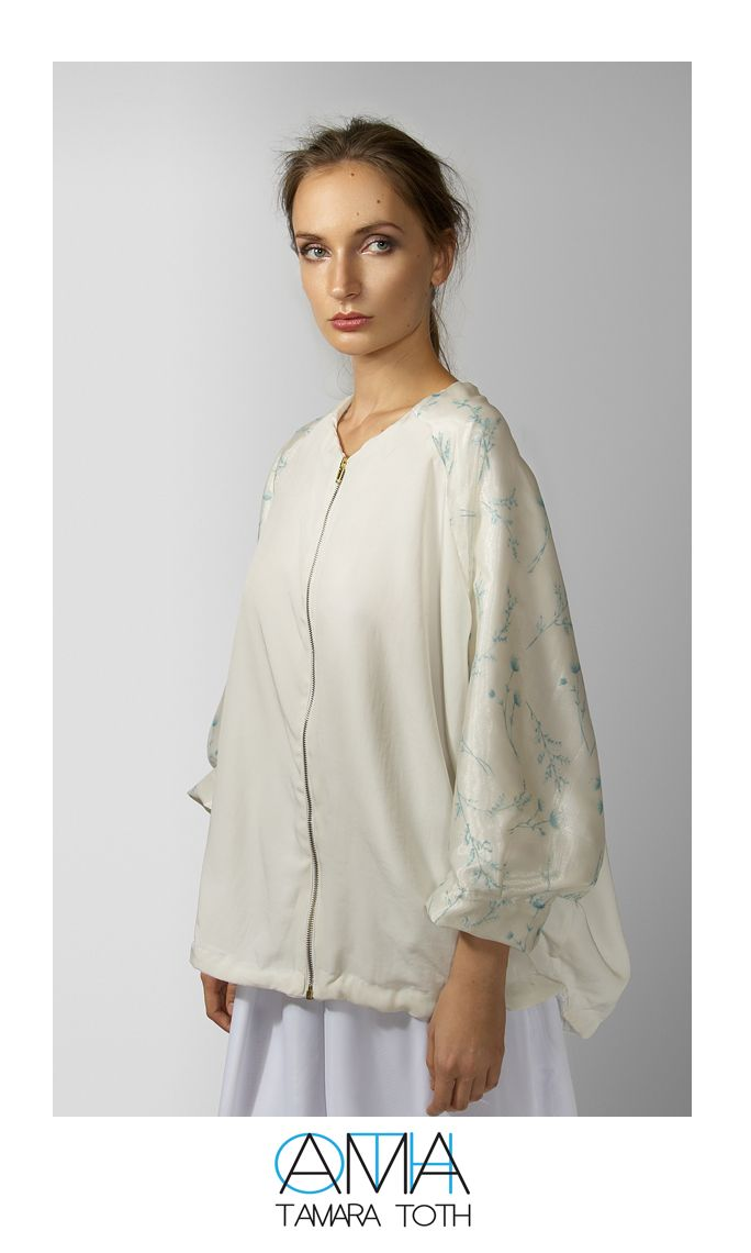 Poncho style bomber jacket...my very favourite <3