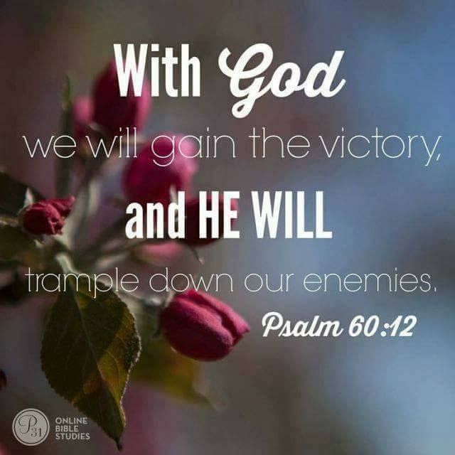 Psalm 60:12 | Love God and Love My Neighbor