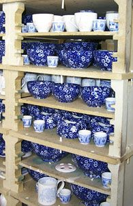 Blue calico- good website if I ever need replacement dishes!