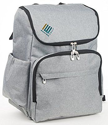 34012f9e010d Amazon.com   Backpack Equip Laptop Backpack Diaper Bag-large trendy baby  boy girl and toddler bags for travel or hiking-fits both men and women-sty…
