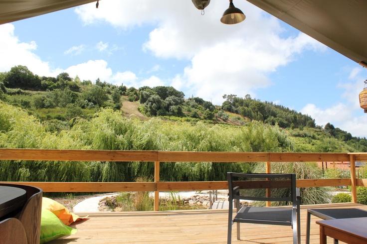 View from Casa de Cha - Safaritent