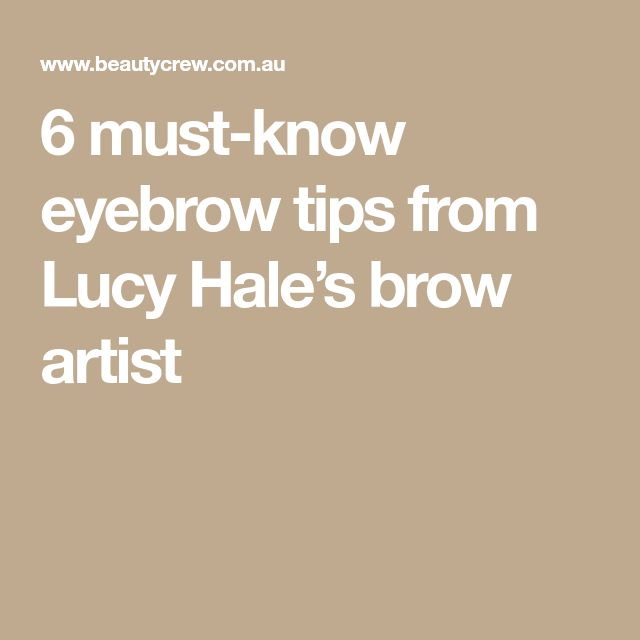 6 must-know eyebrow tips from Lucy Hale's brow artist