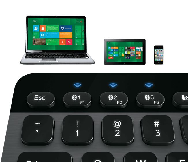 Logitech illuminated keyboard 810 offers smooth, well-spaced keys. Best 2017 keyboard for Windows-specific according to Wirecutter.