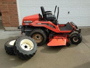 ZD18 Kubota riding mower for sale