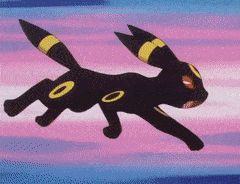 Umbreon saves eevee from a cage
