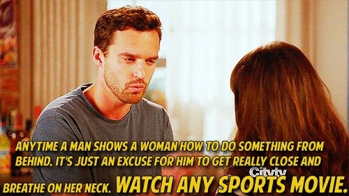 advice from Nick - New Girl