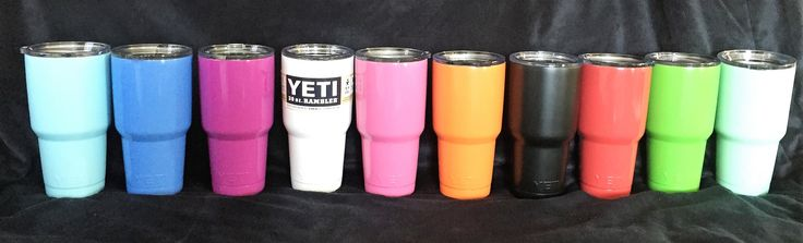 30oz Color Coated Stainless Tumbler***WITH FREE Personalizing/Drinkware