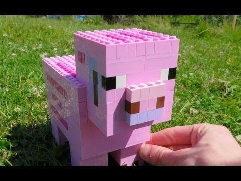 ▶ LEGO Pig - Minecraft - YouTube