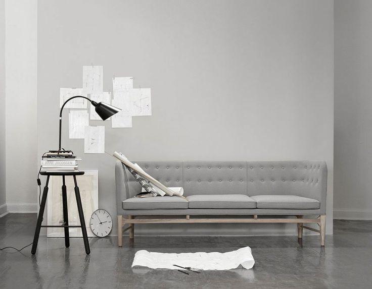 Mayor Sofa - AJ5, Arne jacobsen/Flemming Lassen #&tradition #andtradition #skandinaviskdesign #danskdesign #danishdesign #scandinaviandesign