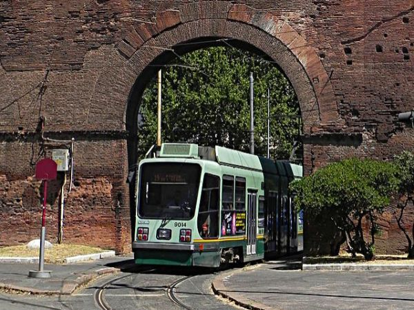 #Tram n19 #Rome (by Wikipedia)