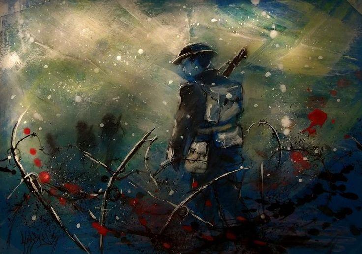 Line Painting Art