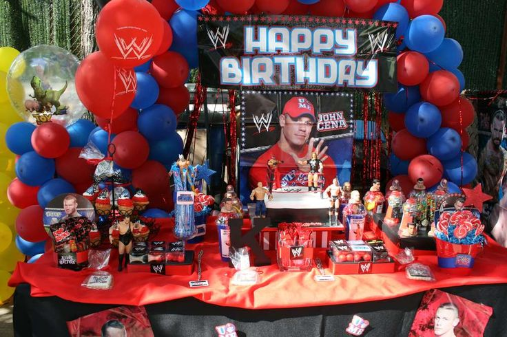 WWE wrestling party! | CatchMyParty.com