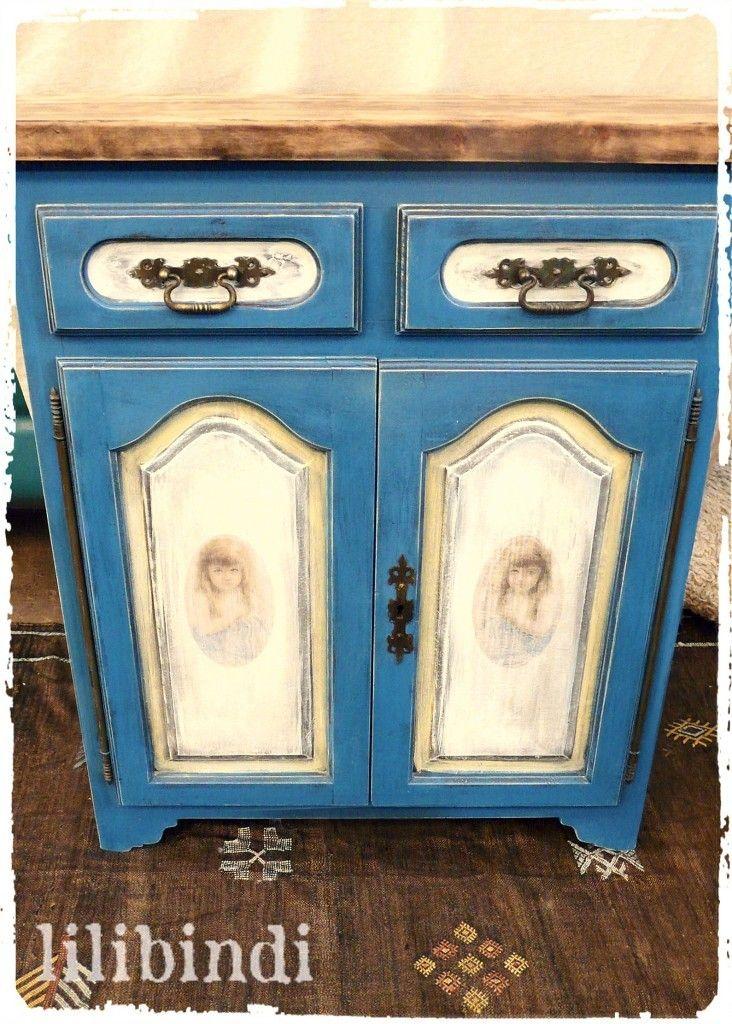 Lilibindi - французский покрашенный шкаф