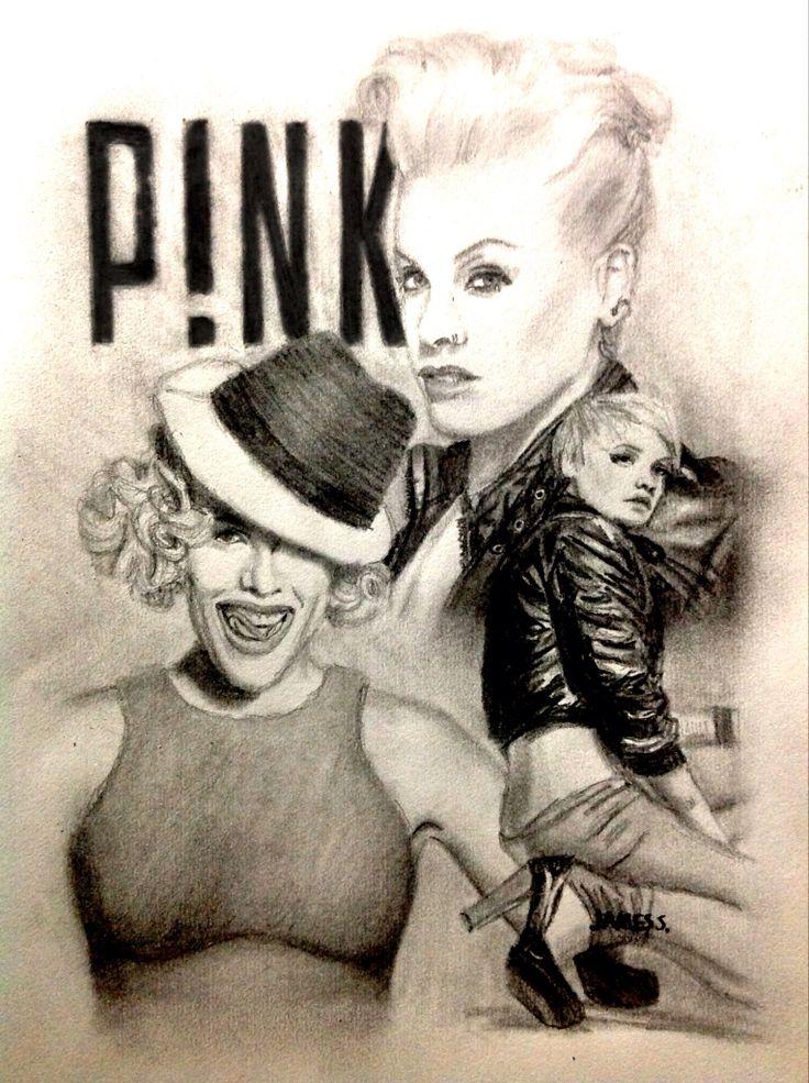 Celebrity Sketch of P!nk
