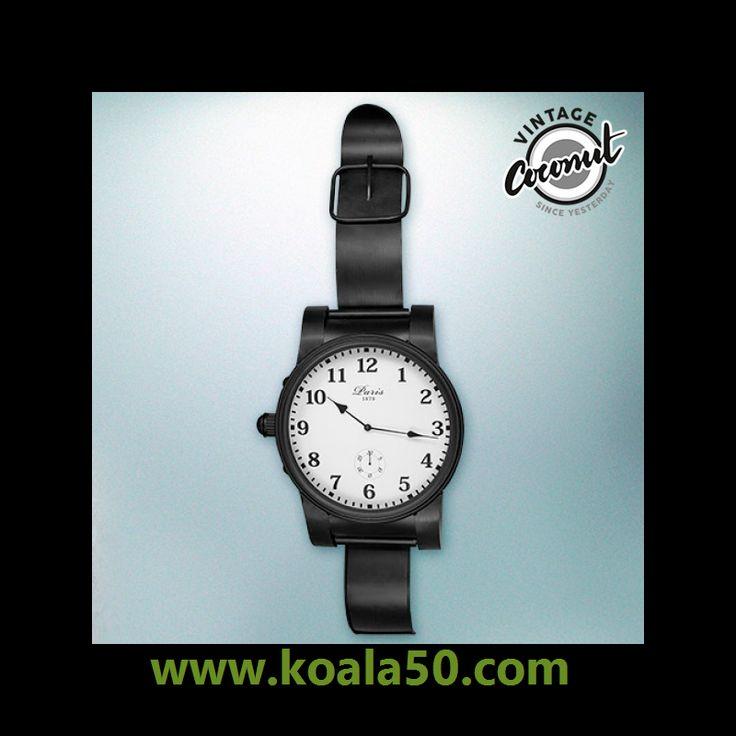 Reloj de Sobremesa Pulsera París Vintage Coconut - 23,59 €   ¡Únete a la moda retro y vintage con este fabuloso reloj de sobremesa pulsera ParísVintage Coconut! Un reloj analógico de sobremesa con un diseño muy original, ya que tiene forma de reloj de...  http://www.koala50.com/relojes-de-pared-sobremesa/reloj-de-sobremesa-pulsera-paris-vintage-coconut