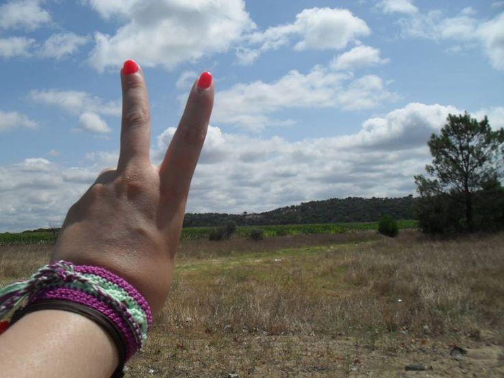 #Movimento_Gipsy em Ponte de Sôr, Portalegre. A tranquilidade Alentejana