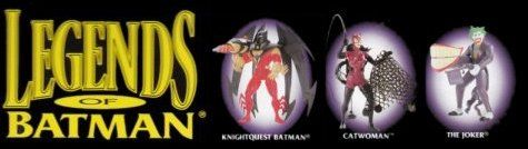 Kenner released a whole new line of new sculpts of batman action figures in December 1992. the line of figures had several else worlds versions of batman. This line never gained popularity and was soon canceled after its debut.