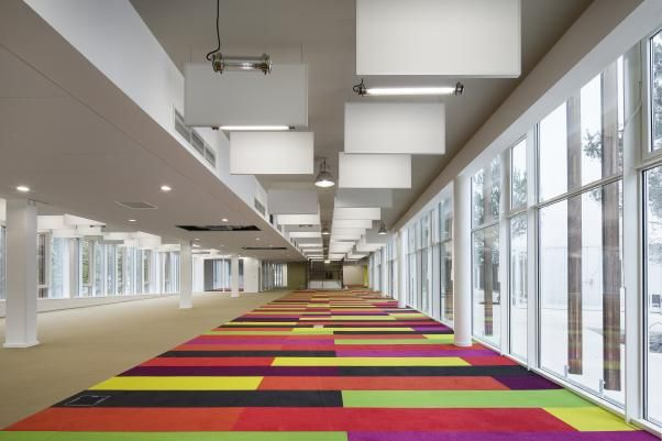 Médiathèque Jean-Pierre Vernant à Chelles (77) - Atelier Novembre - Architecture