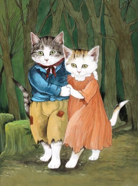 HANSEL & GRETEL by SUSAN HERBERT