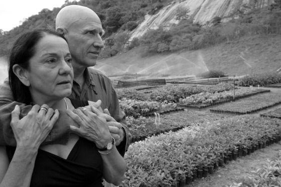Léila et Sebastião Salgado, Fondation Instituto Terra. Photo : Ricardo Beliel