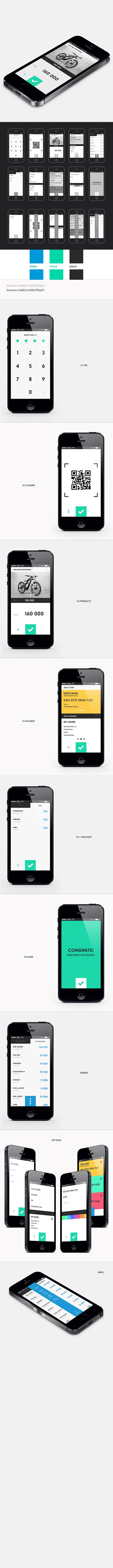 #ios #ui #app #ux #design #mobile #application #gui BRIEF PAY iOS APP Brief Pay is an iOs app that lets you use your phone to pay for things in shops. The app use the QR code technology to secure the transaction.