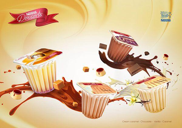 Nestle Desserts MV on Behance