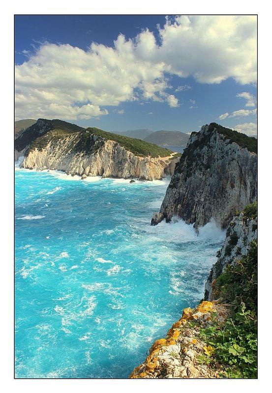 Dukatos Cape, Kavo Doukato, Ionian Islands, Greece