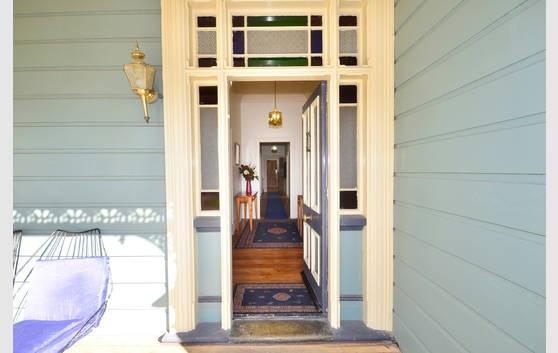 Love the leadlight and long hallway!  Villa - Milton, New Zealand